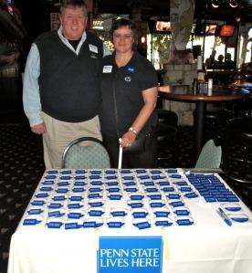Craig and Judy Micklow, North Texas chapter leadership.