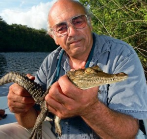 Professor of Wildlife, Frank Mazzotti,